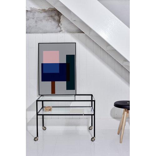 Richard Lampert Bauhaus tarjoiluvaunu
