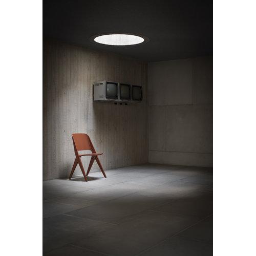 Poiat Lavitta chair, copper orange