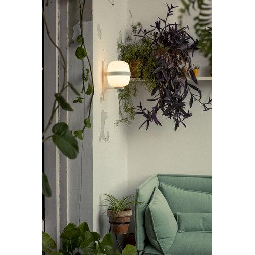 Santa & Cole Wally wall lamp, white