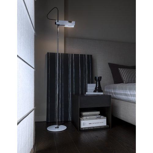 Oluce Spider 3319 floor lamp, white