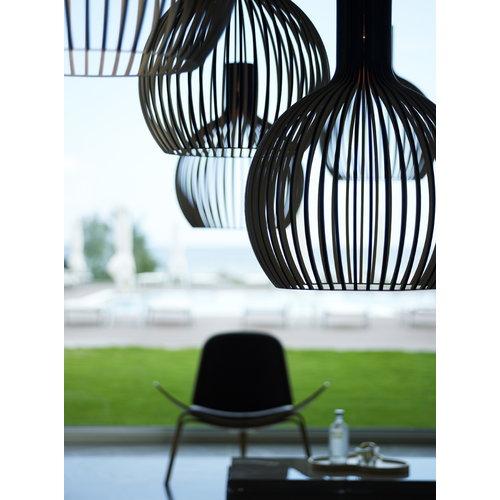 Secto Design Lampada Octo 4240, nera