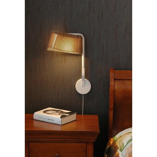 Secto Design Owalo 7030 wall lamp, walnut