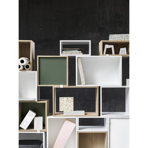 Muuto Stacked shelf module small, ash