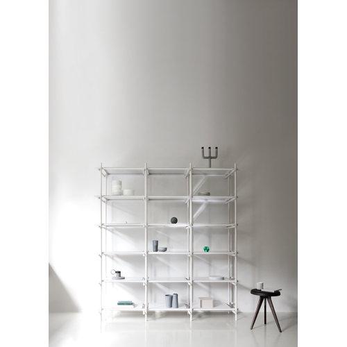 Menu Stick System 3 x 5, bianco