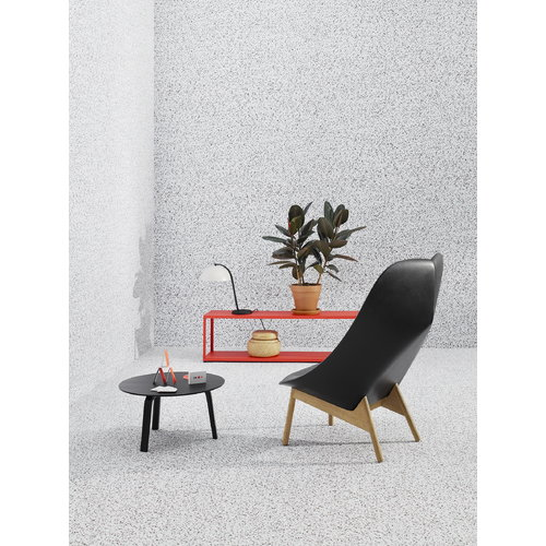 Hay Bella coffee table 60 cm, low, black