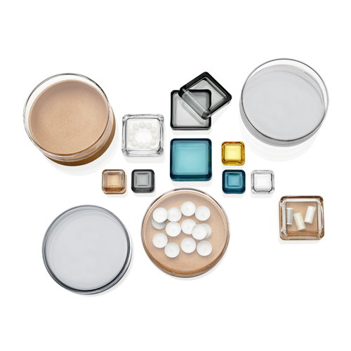 Iittala Vitriini box 60 x 60 mm, clear/oak