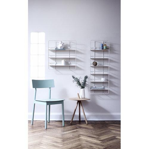 Woud Coup� vertical shelf, white