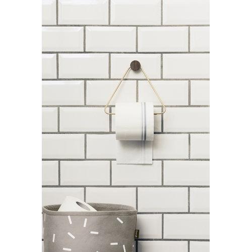 Ferm Living Toilet paper holder, brass