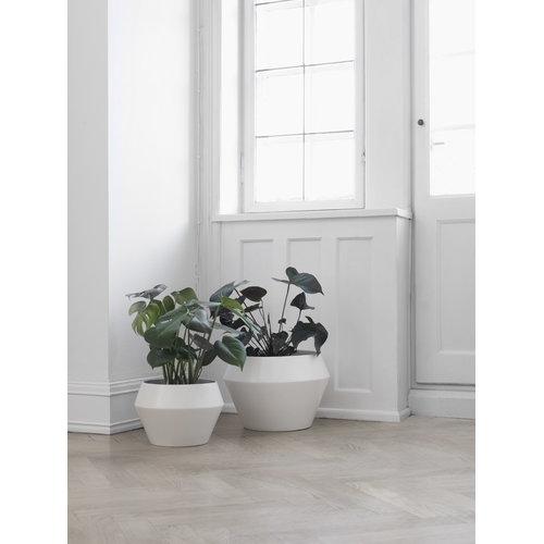 By Lassen Rimm flowerpot, large, white