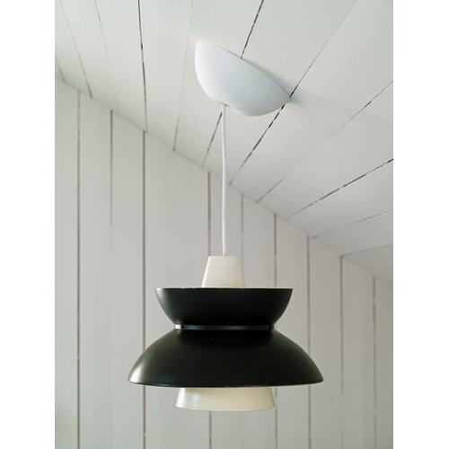 CableCup Rosone per lampada CableCup, bianco