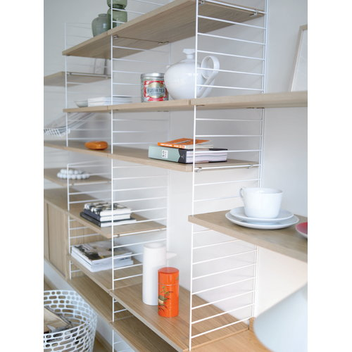 String String magazine shelf, white