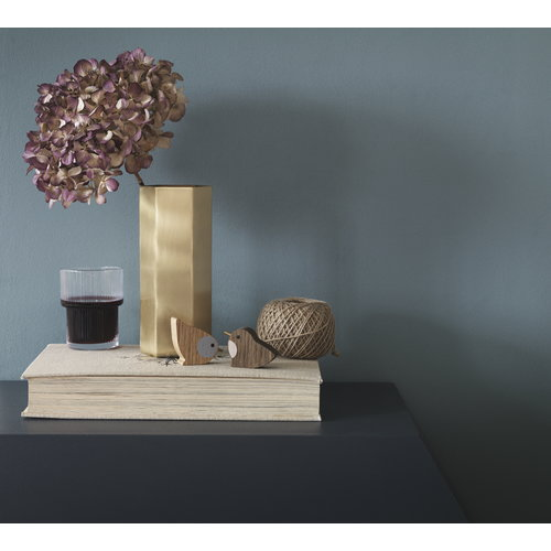 Ferm Living Hexagon vase, brass