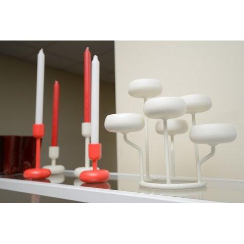 Iittala Nappula candleholder 183 mm, white