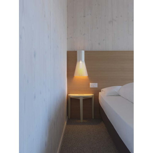 Secto Design Lampada da parete Secto 4231 45 cm, bianca