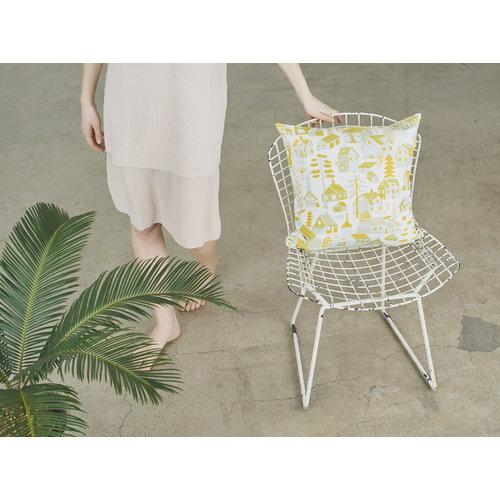 Kauniste M�kkil� cushion cover, yellow