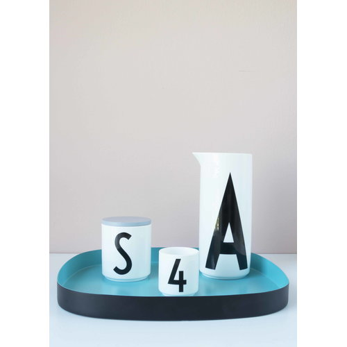 Design Letters Wooden cap, grey