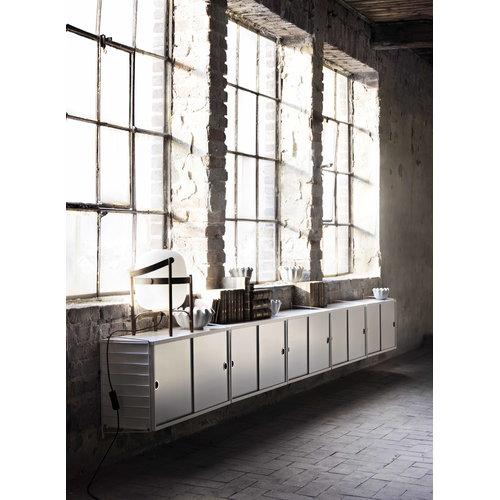 String String cabinet, white