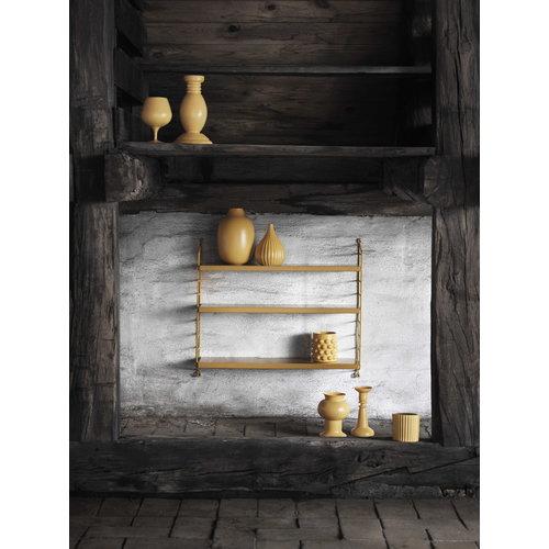 String String Pocket shelf, mustard