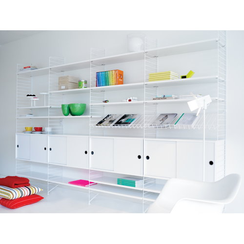 String String shelf 78 x 30 cm, 3-pack, white