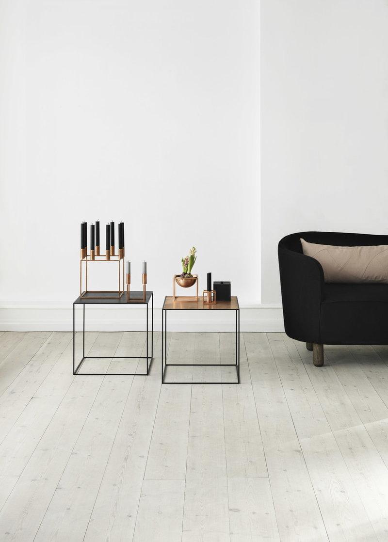 by lassen kubus 8 candleholder copper finnish design shop. Black Bedroom Furniture Sets. Home Design Ideas