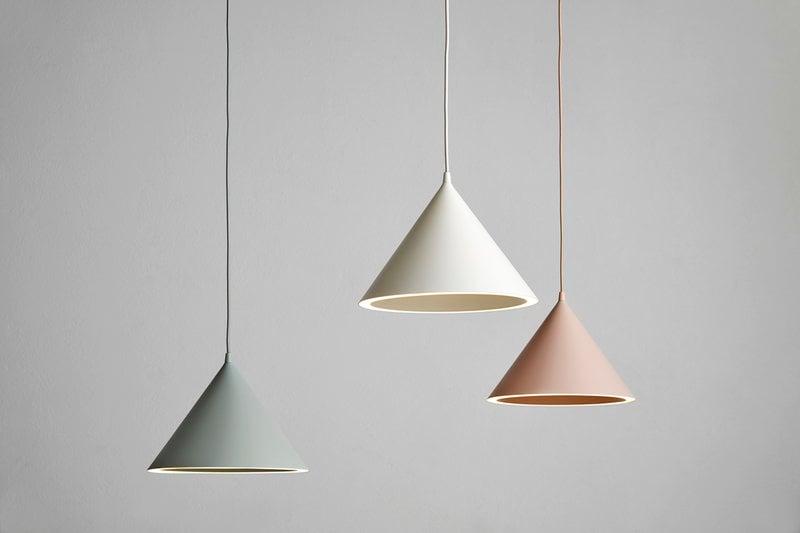 Woud Lampada a sospensione Annular, bianca | Finnish Design Shop