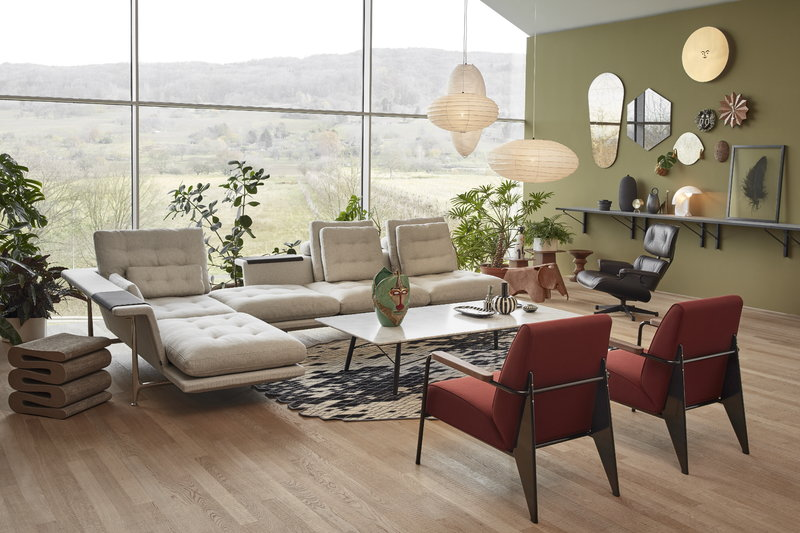 Vitra Eames Lounge Chair Classic Size Black Ash Black Leather Finnish Design Shop