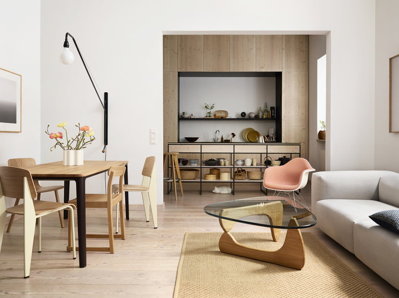 Vitra Noguchi Coffee Table Oak Finnish Design Shop