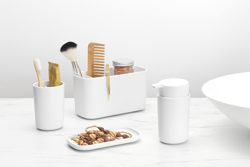 Brabantia Renew Bathroom Caddy White, Brabantia Bathroom Accessories