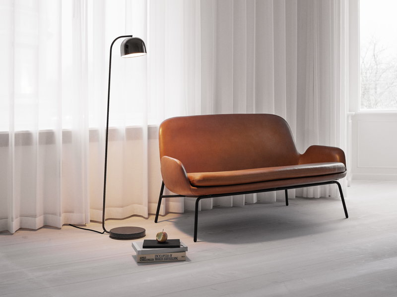 Normann Copenhagen Grant Floor Lamp Black Finnish