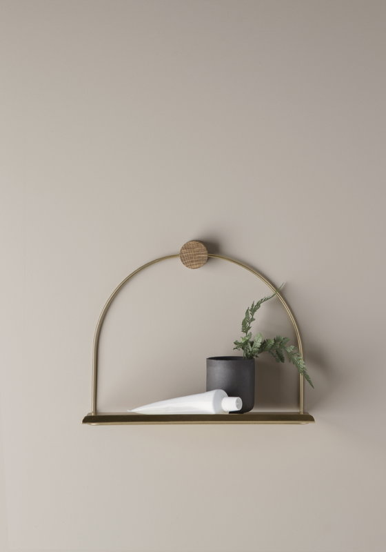 Hella Httpsreconhomeinspection Comsmall Living Room Decor: Ferm Living Bathroom Shelf, Brass
