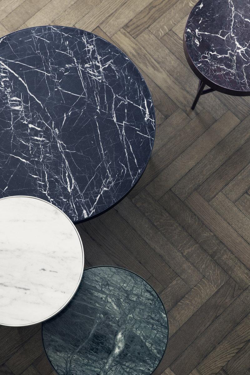 Ferm Living Marble Table Large Black Finnish Design Shop