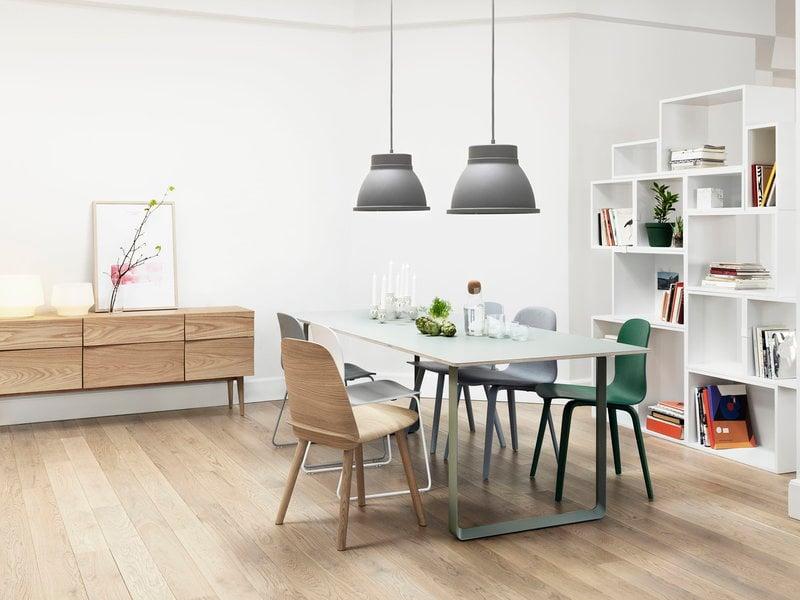 Muuto E27 Hanglamp : Muuto studio lamp grey finnish design shop