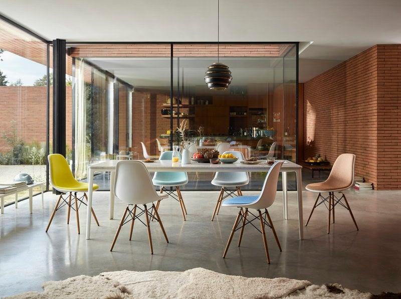 Vitra Sedia Eames DSW, bianco - acero   Finnish Design Shop