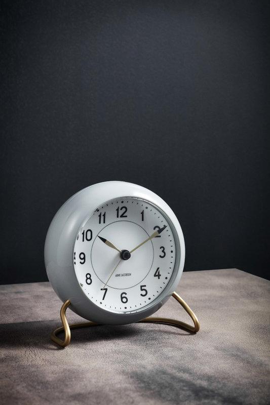 Arne Jacobsen AJ Station table clock