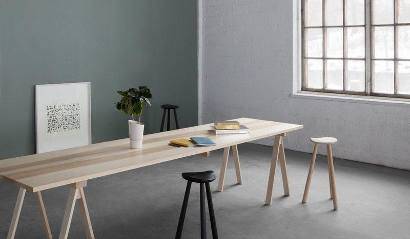 Nikari Piano Del Tavolo Arkitecture 80 X 180 Cm Betulla Finnish Design Shop