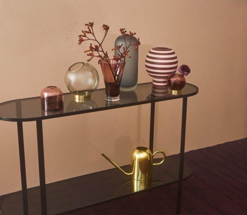 Aytm Globe Vase Small Rose Gold Finnish Design Shop