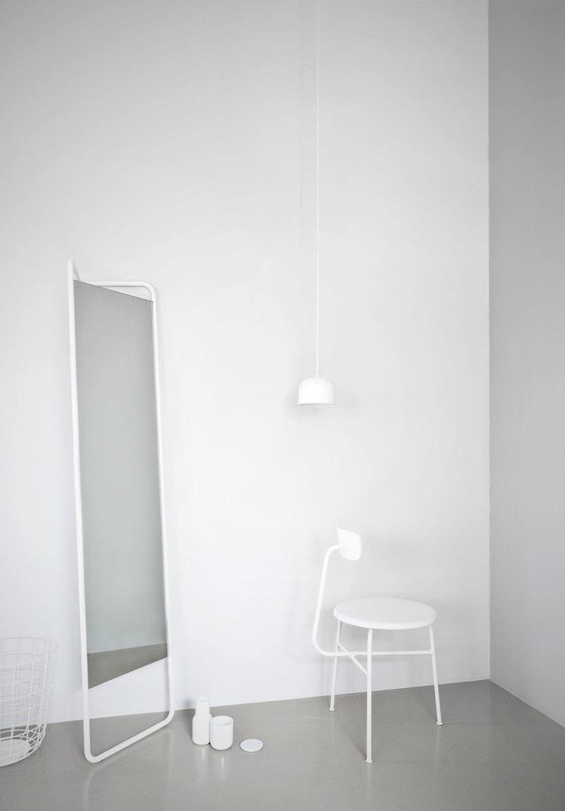 Menu Kaschkasch floor mirror white Finnish Design Shop