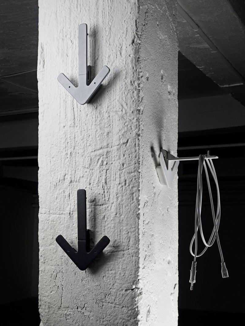 Design House Stockholm Arrow hanger, black | Finnish Design Shop