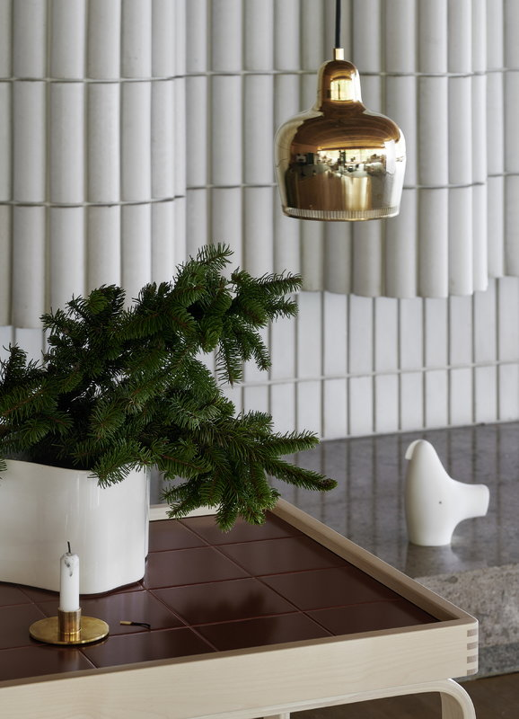 Artek Aalto Golden Bell riippuvalaisin A330S Savoy, messinki | Finnish Design Shop