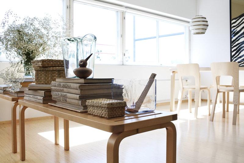 Artek aalto ritil penkki 153b koivu finnish design shop for Alvar aalto muebles