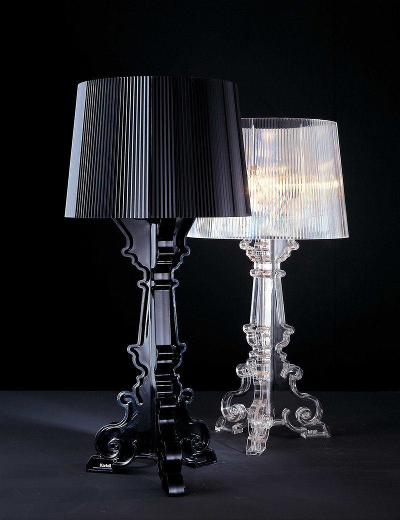 Kartell Bourgie table lamp, clear | Finnish Design Shop