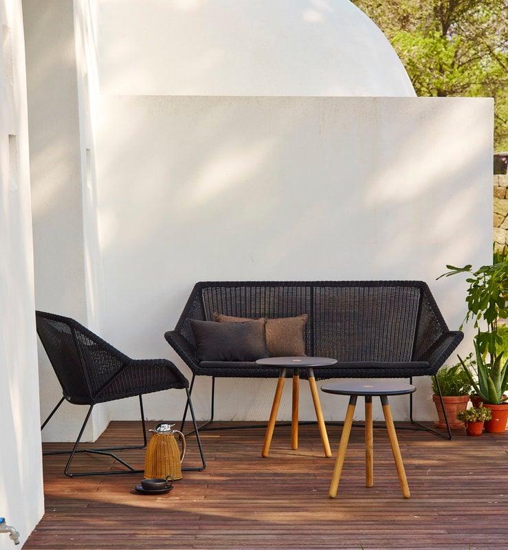 Cane Line Breeze Lounge Chair Black Finnish Design Shop