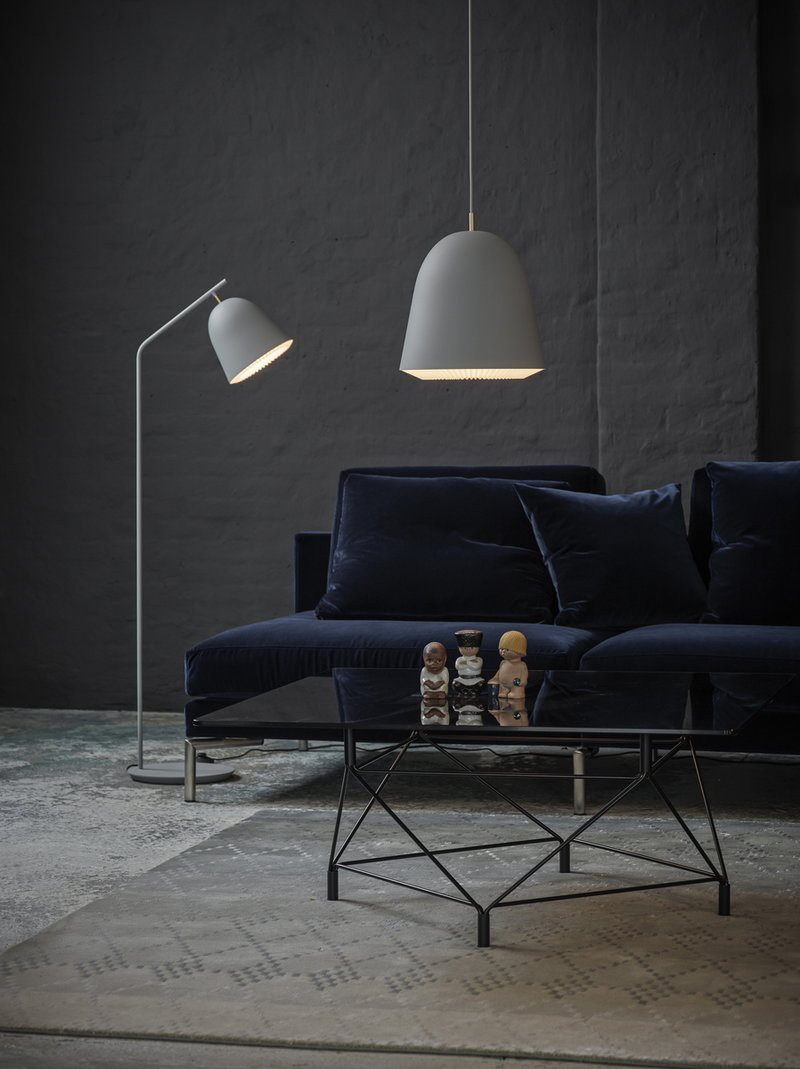 klint lighting. Le Klint Caché Floor Lamp, Grey Klint Lighting