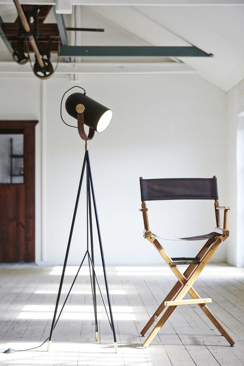 Le Klint Carronade 360M floor lamp, black | Finnish Design Shop