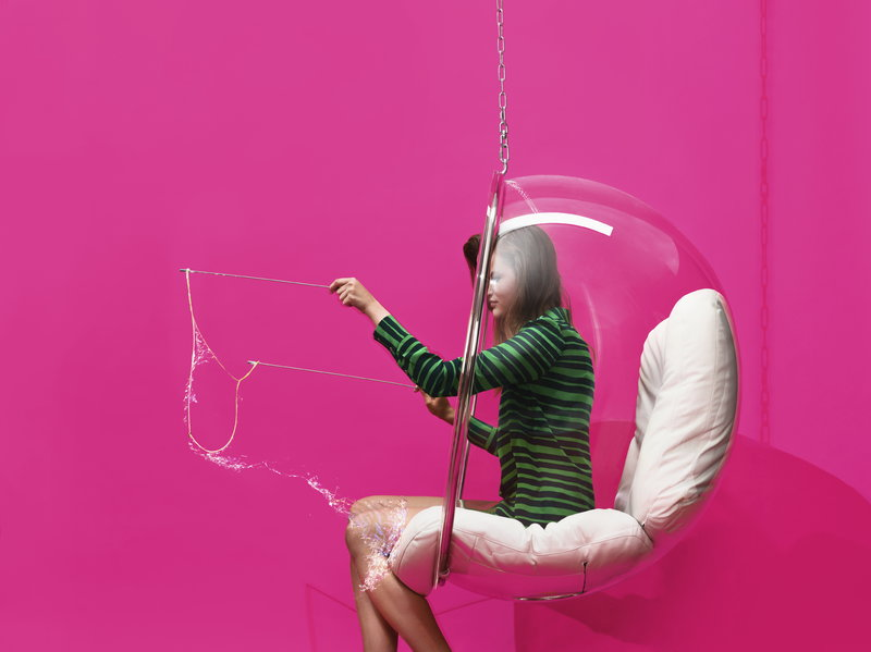 Eero Aarnio Originals Bubble Chair White Finnish Design Shop
