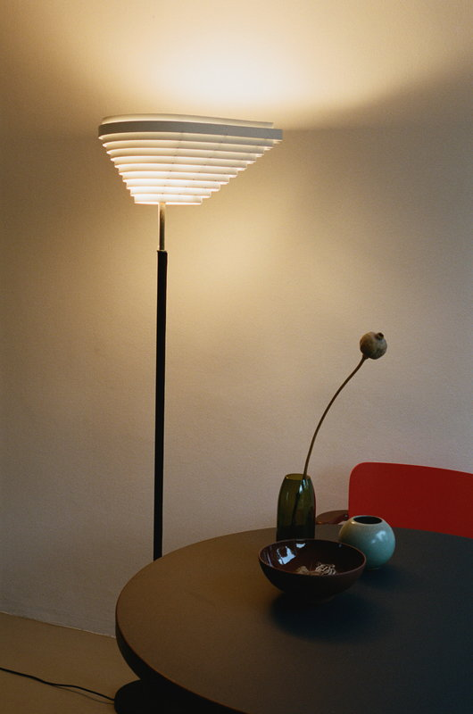 Artek A805 Floor Lamp Polished Brass Finnish Design Shop