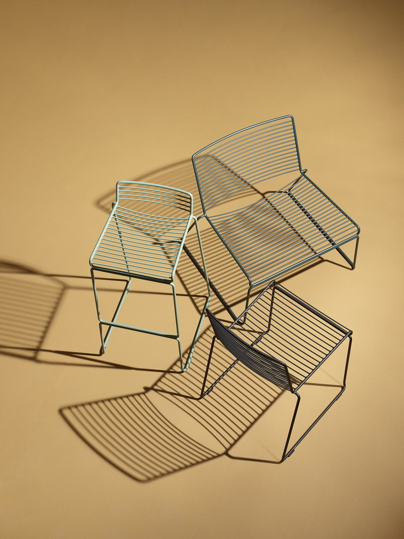Hay hee dining chair black finnish design shop for Hay design