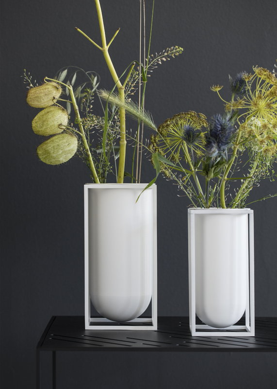 By Lassen Kubus Lily Vase White Finnish Design Shop