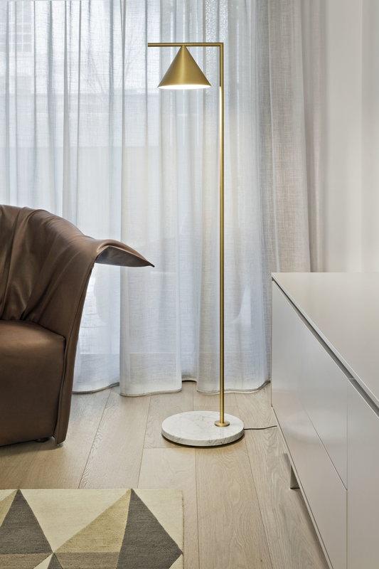 new arrival 8ad13 81380 Captain Flint floor lamp, brass