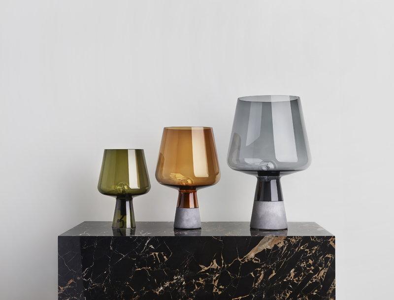 Lampada Ufficio Verde : Iittala lampada da tavolo leimu cm verde muschio finnish